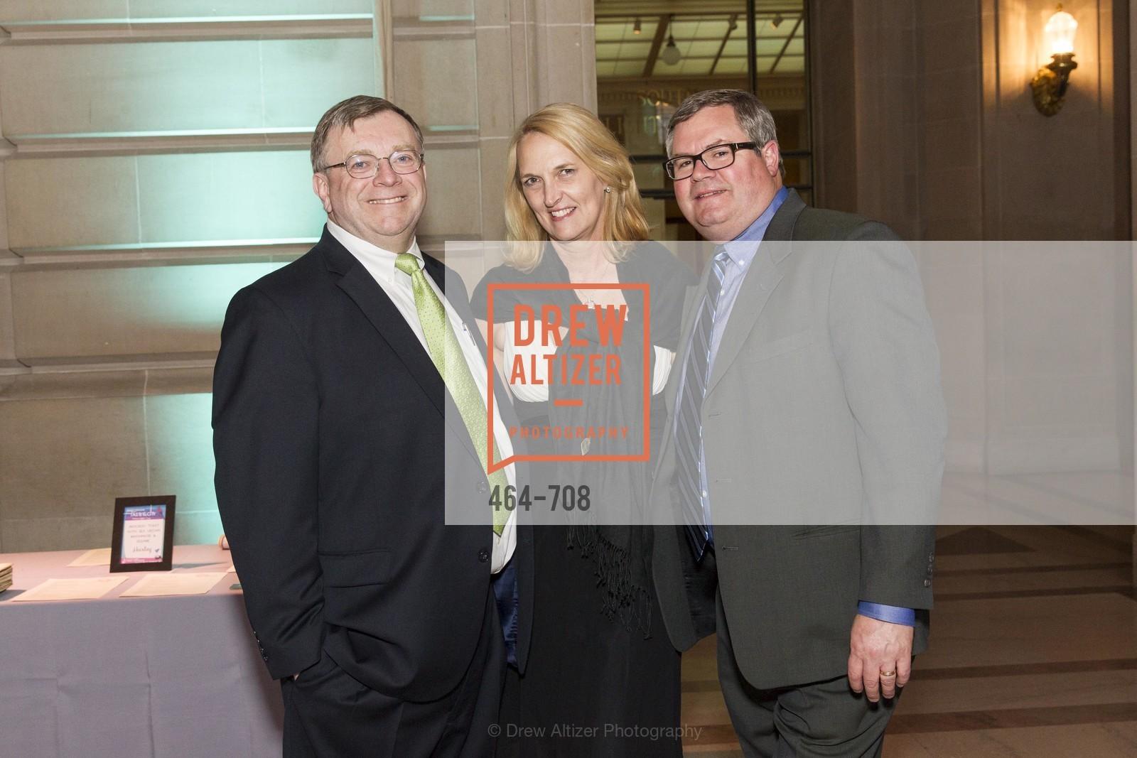 Rich Bowman, Joy Berberich, Steven Berberich, PROJECT OPEN HAND Gala