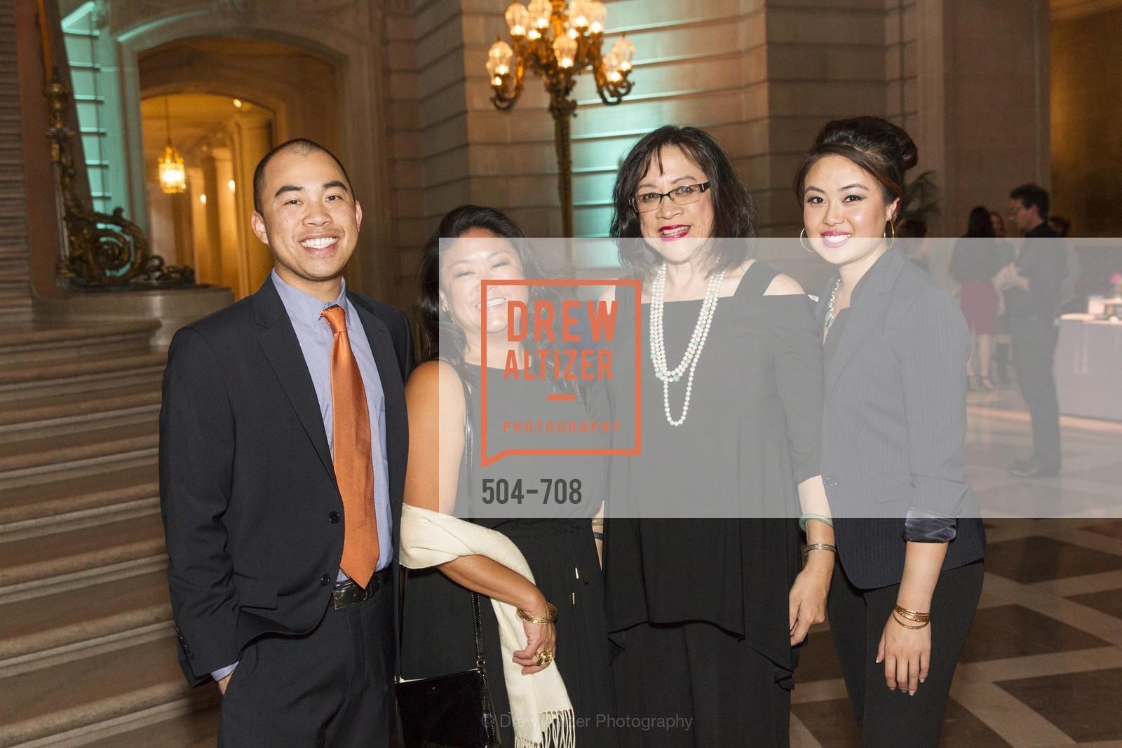 Spencer Lew, Sheryl Koga, Roberta Lew, Stephanie Nguyen, PROJECT OPEN HAND Gala