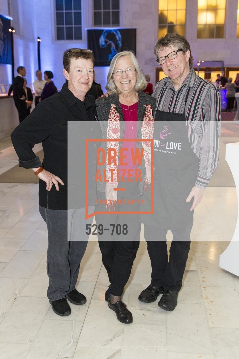Anie O'Connell, Catherine Fox, Richard Goldman, PROJECT OPEN HAND Gala