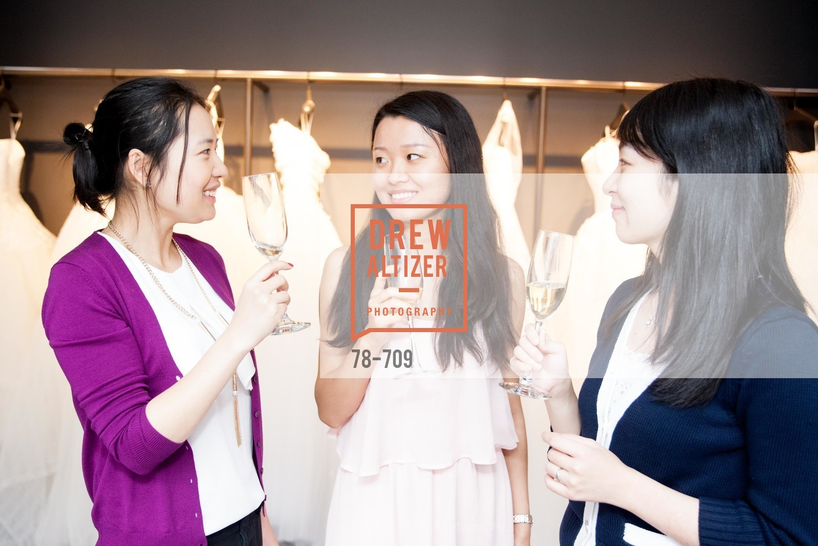 Jasmine Huong, Yi Li, Siya Gao, VERA WANG Spring Collection Preview with DOMAINE CARNEROS WINES, US, May 7th, 2015,Drew Altizer, Drew Altizer Photography, full-service agency, private events, San Francisco photographer, photographer california