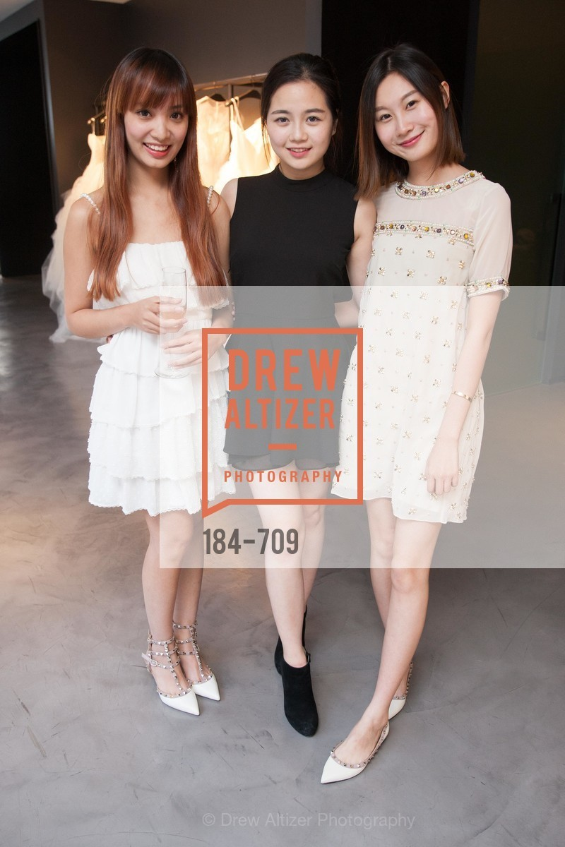 Gabrielle Qiu, Verna Li, Judy Chen, VERA WANG Spring Collection Preview with DOMAINE CARNEROS WINES, US, May 7th, 2015,Drew Altizer, Drew Altizer Photography, full-service agency, private events, San Francisco photographer, photographer california