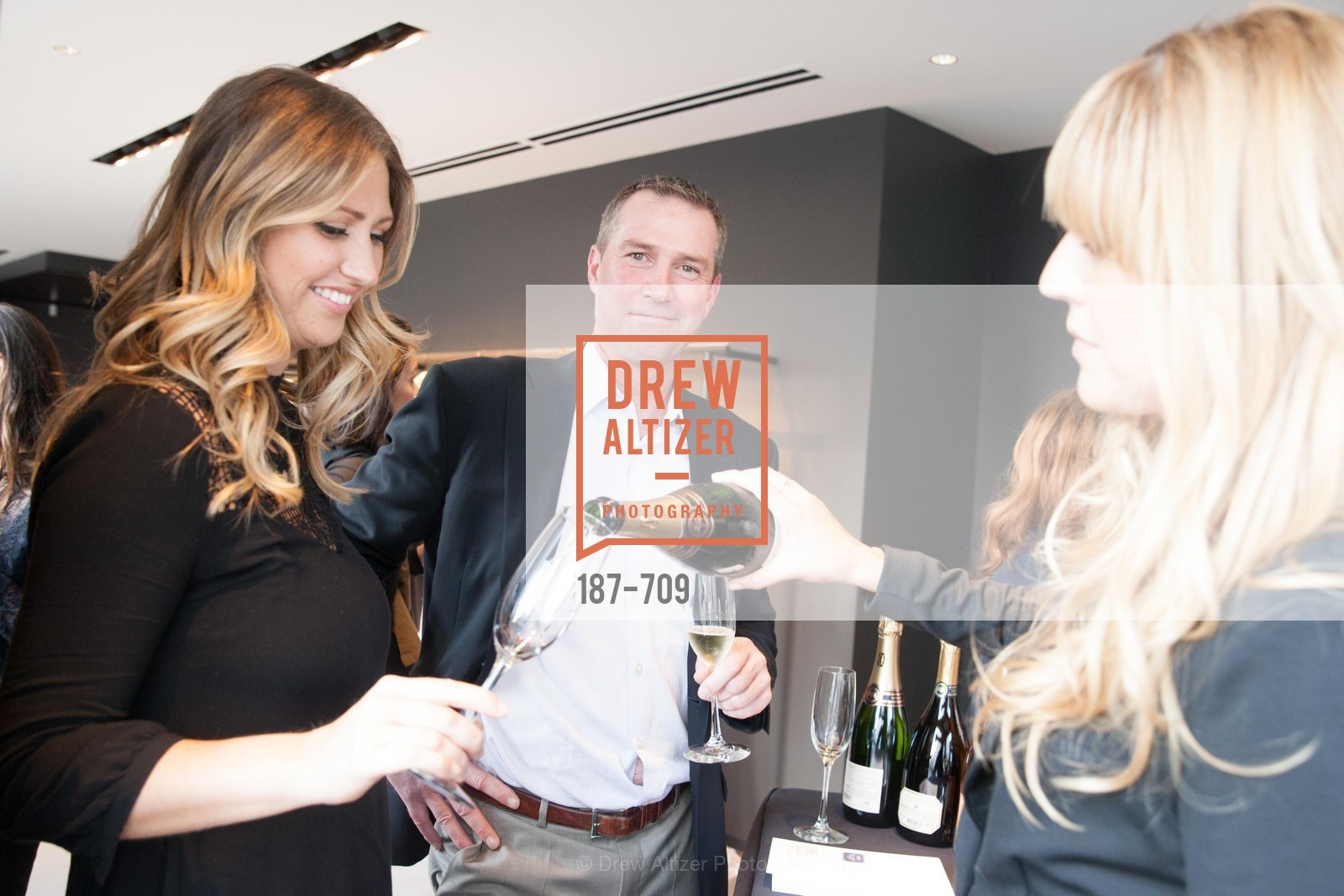 Charla Miller, TJ Evans, VERA WANG Spring Collection Preview with DOMAINE CARNEROS WINES, US, May 7th, 2015,Drew Altizer, Drew Altizer Photography, full-service agency, private events, San Francisco photographer, photographer california