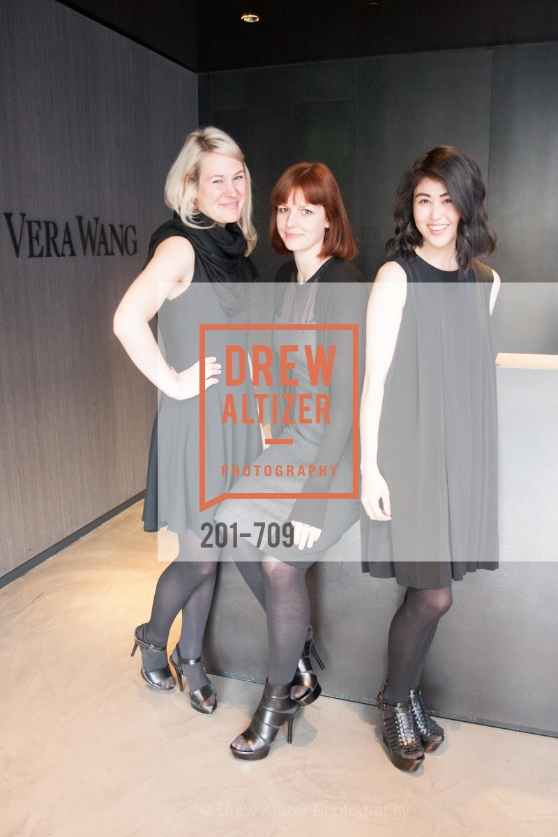 Amy Mako, Karis Johnston, Alicia Kai, VERA WANG Spring Collection Preview with DOMAINE CARNEROS WINES, US, May 7th, 2015,Drew Altizer, Drew Altizer Photography, full-service agency, private events, San Francisco photographer, photographer california