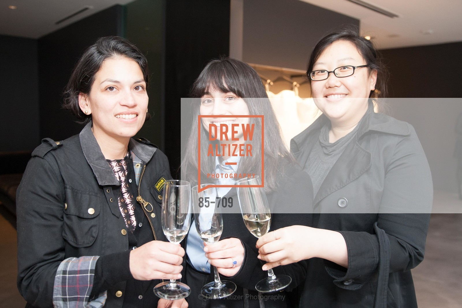 Julia Cervantes, Shirin Oloumi, Stephanie Lee, VERA WANG Spring Collection Preview with DOMAINE CARNEROS WINES, US, May 7th, 2015,Drew Altizer, Drew Altizer Photography, full-service agency, private events, San Francisco photographer, photographer california