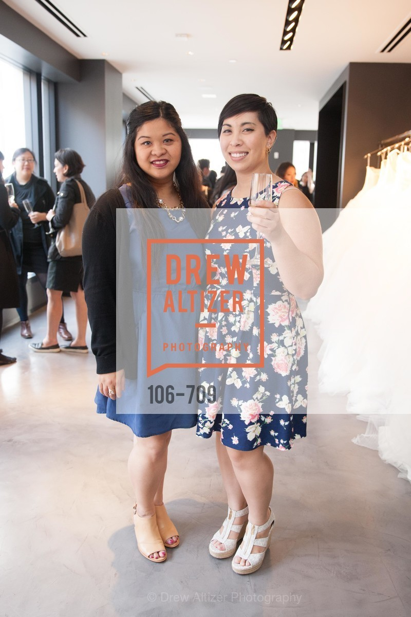 Zherranne Aquino, Gretchen Smail, VERA WANG Spring Collection Preview with DOMAINE CARNEROS WINES, US, May 7th, 2015,Drew Altizer, Drew Altizer Photography, full-service agency, private events, San Francisco photographer, photographer california