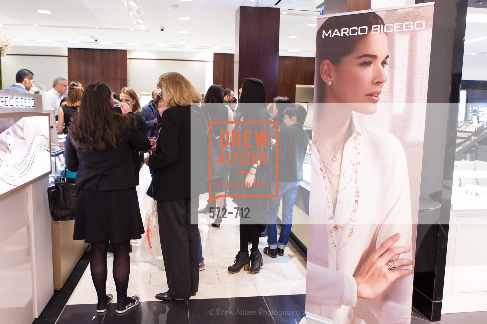 Atmosphere, Marco Bicego Makes Personal Appearance at BLOOMINGDALE'S San Francisco, May 8th, 2015, Photo,Drew Altizer, Drew Altizer Photography, full-service agency, private events, San Francisco photographer, photographer california