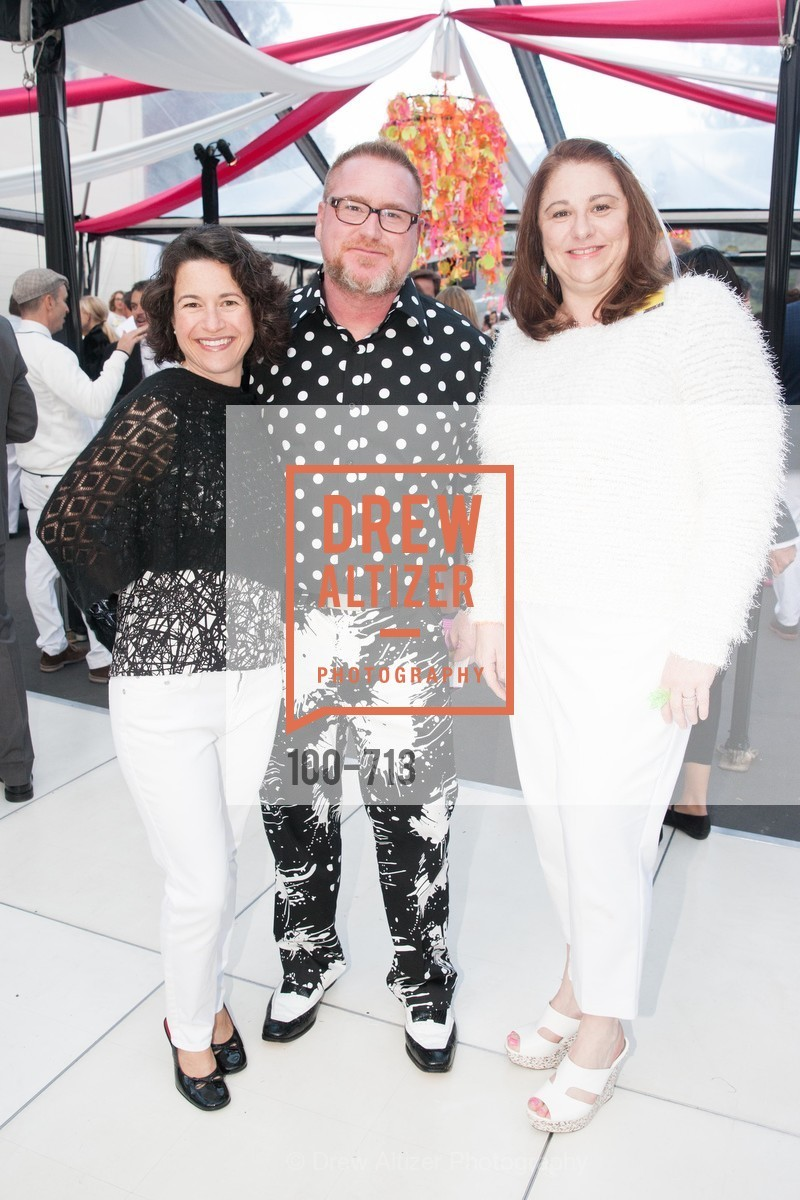 Carolyn Dahlman, Scott Dahlman, Michelle Morfino, THE BAY AREA DISCOVERY MUSEUM'S Playdate 2015:  White to Bright, US, May 8th, 2015,Drew Altizer, Drew Altizer Photography, full-service agency, private events, San Francisco photographer, photographer california