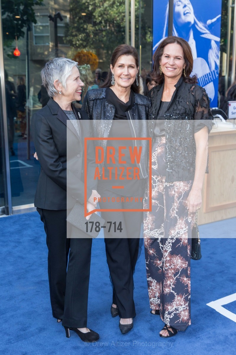 Laura Lazarus, Monica Mancini, Randi Fisher, SFJAZZ Gala 2015 Honors Joni Mitchell with Lifetime Achievement Award, US, May 8th, 2015,Drew Altizer, Drew Altizer Photography, full-service agency, private events, San Francisco photographer, photographer california