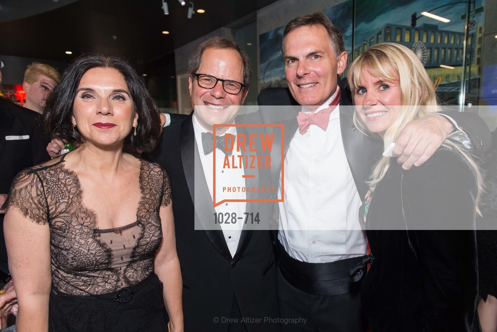 Teresa Pantaleo, Randall Kline, Mark Cavagnero, Ive Haugeland, SFJAZZ Gala 2015 Honors Joni Mitchell with Lifetime Achievement Award, US, May 9th, 2015,Drew Altizer, Drew Altizer Photography, full-service agency, private events, San Francisco photographer, photographer california