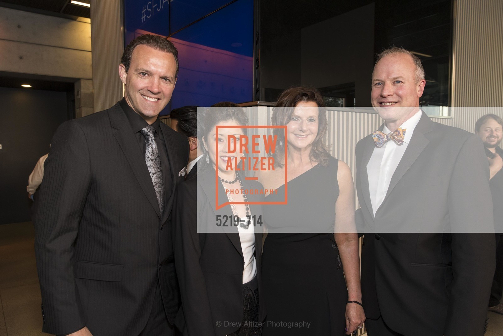 Bret Hedican, Kristi Yamaguchi, Diane Mailey, Don Derheim, SFJAZZ Gala 2015 Honors Joni Mitchell with Lifetime Achievement Award, US, May 9th, 2015,Drew Altizer, Drew Altizer Photography, full-service agency, private events, San Francisco photographer, photographer california