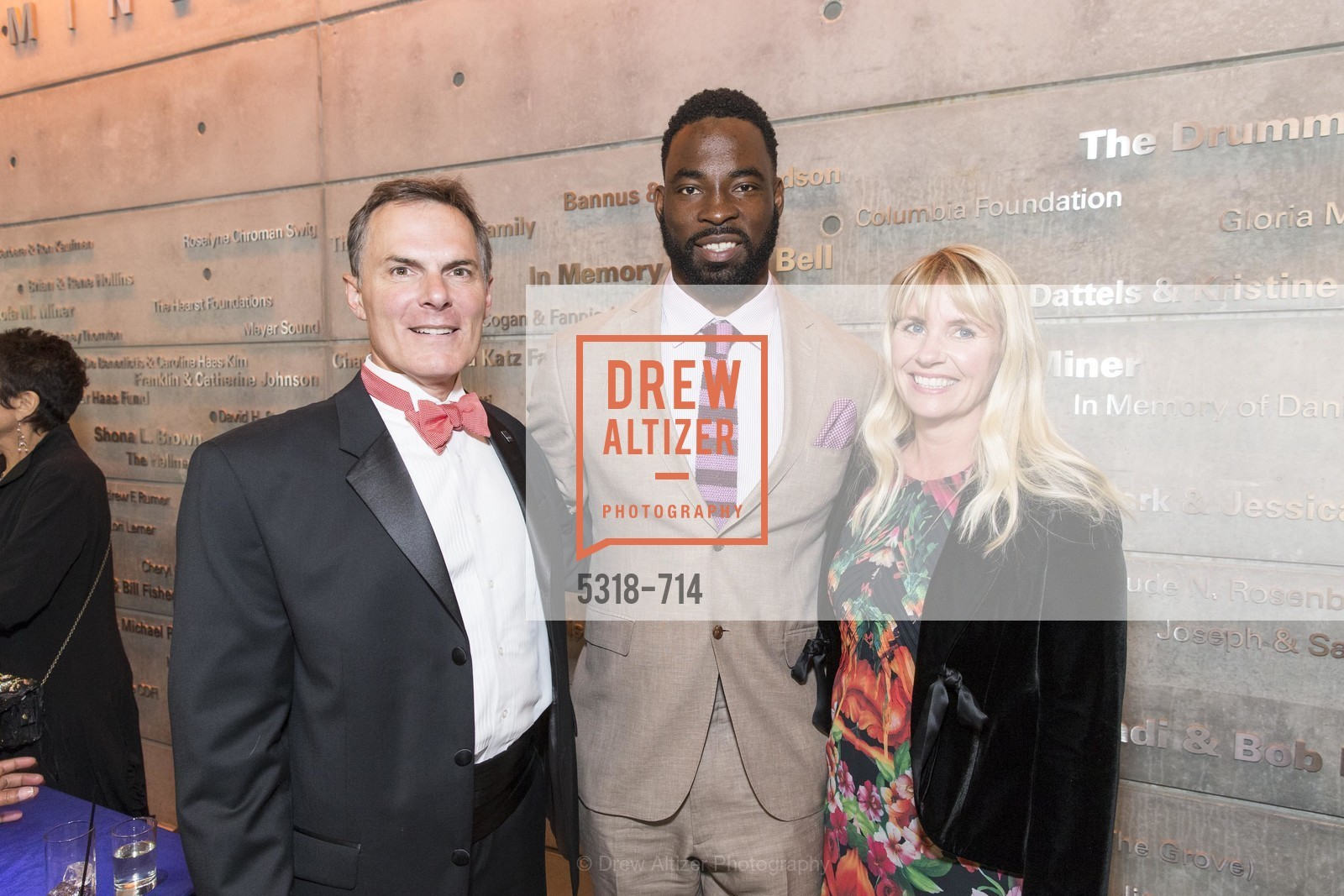 Mark Cavagnero, Justin Tuck, Ive Haugeland, SFJAZZ Gala 2015 Honors Joni Mitchell with Lifetime Achievement Award, US, May 9th, 2015,Drew Altizer, Drew Altizer Photography, full-service agency, private events, San Francisco photographer, photographer california