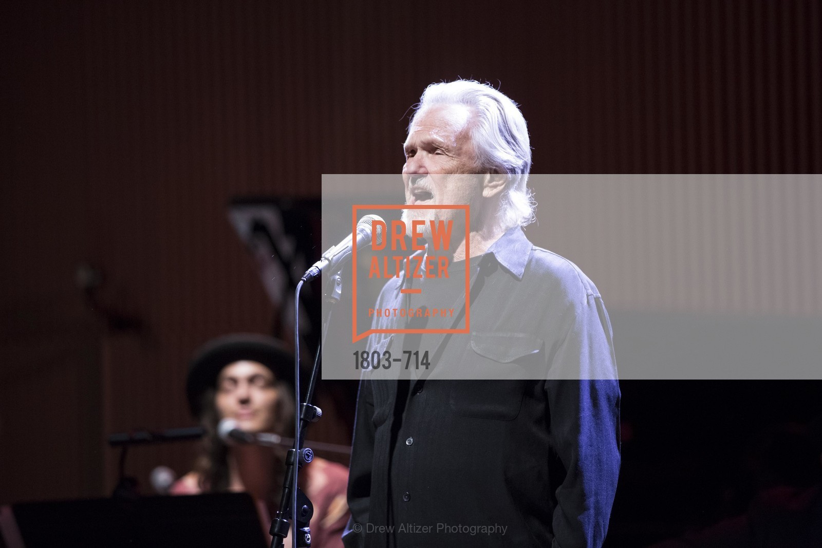 Performance By Kris Kristofferson, SFJAZZ Gala 2015 Honors Joni Mitchell with Lifetime Achievement Award, US, May 8th, 2015,Drew Altizer, Drew Altizer Photography, full-service agency, private events, San Francisco photographer, photographer california