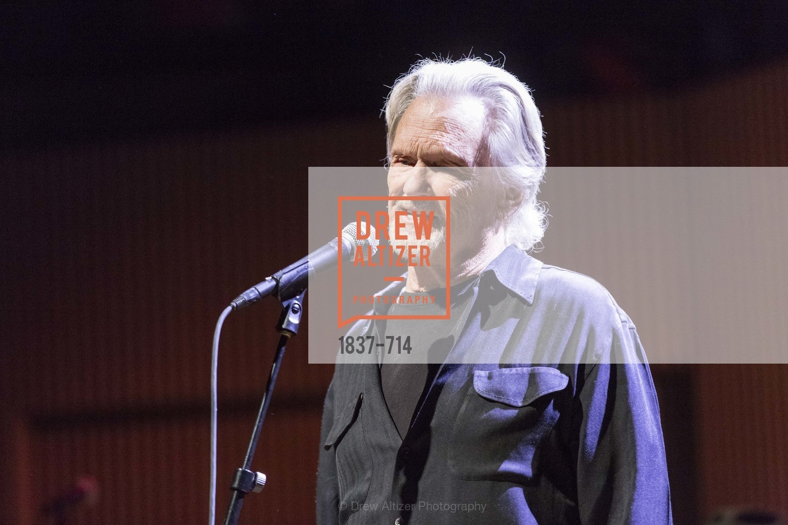 Performance By Kris Kristofferson, SFJAZZ Gala 2015 Honors Joni Mitchell with Lifetime Achievement Award, US, May 9th, 2015,Drew Altizer, Drew Altizer Photography, full-service agency, private events, San Francisco photographer, photographer california