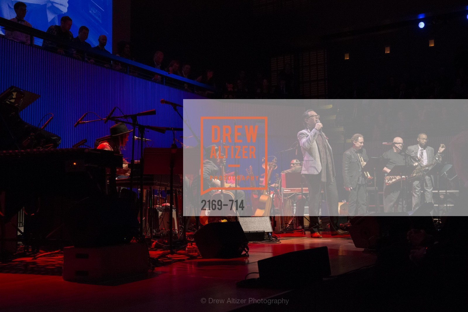 Performance By Kurt Elling, SFJAZZ Gala 2015 Honors Joni Mitchell with Lifetime Achievement Award, US, May 9th, 2015,Drew Altizer, Drew Altizer Photography, full-service agency, private events, San Francisco photographer, photographer california