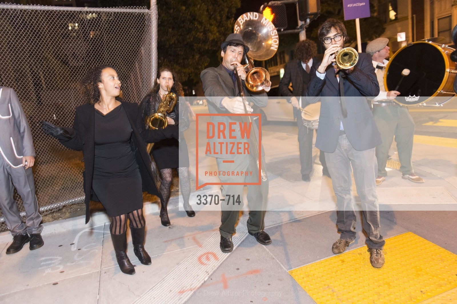Performance By Brass Band Mission, SFJAZZ Gala 2015 Honors Joni Mitchell with Lifetime Achievement Award, US, May 8th, 2015,Drew Altizer, Drew Altizer Photography, full-service agency, private events, San Francisco photographer, photographer california