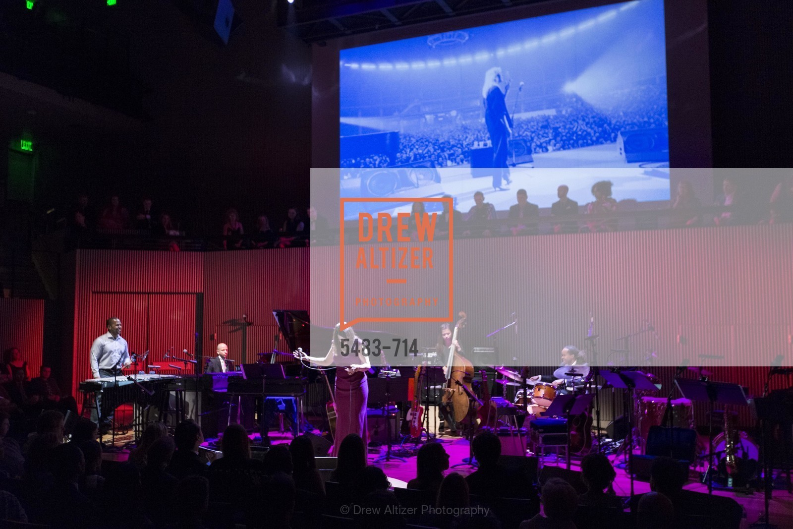 Performance Laurie Antonioli, SFJAZZ Gala 2015 Honors Joni Mitchell with Lifetime Achievement Award, US, May 9th, 2015,Drew Altizer, Drew Altizer Photography, full-service agency, private events, San Francisco photographer, photographer california