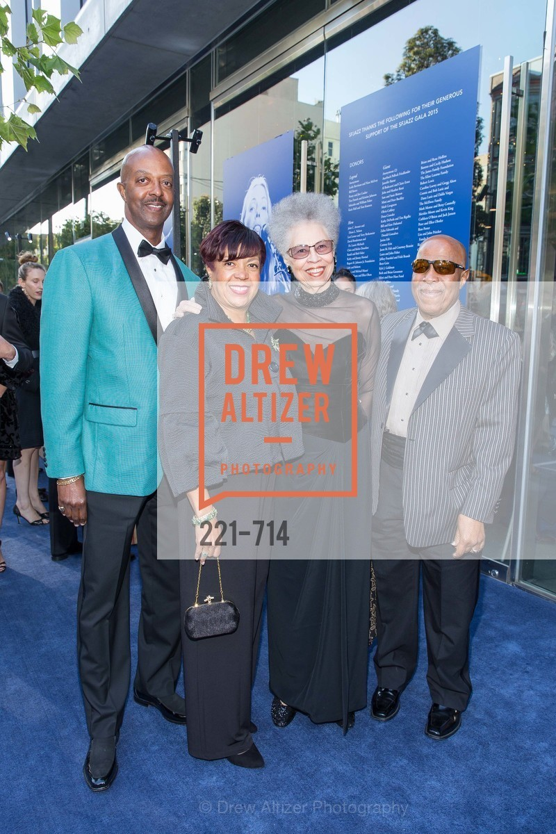 Tony Harris, Angela Harris, Del Anderson Handy, John Handy, SFJAZZ Gala 2015 Honors Joni Mitchell with Lifetime Achievement Award, US, May 8th, 2015,Drew Altizer, Drew Altizer Photography, full-service agency, private events, San Francisco photographer, photographer california