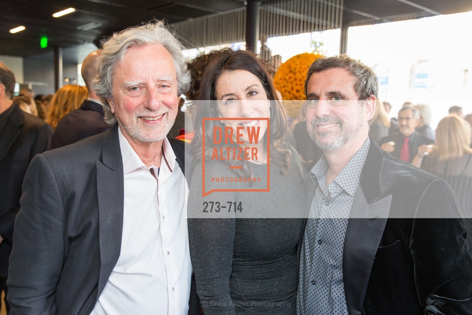 Philip Kaufman, Christine Pelosi, Peter Kaufman, SFJAZZ Gala 2015 Honors Joni Mitchell with Lifetime Achievement Award, US, May 8th, 2015,Drew Altizer, Drew Altizer Photography, full-service agency, private events, San Francisco photographer, photographer california