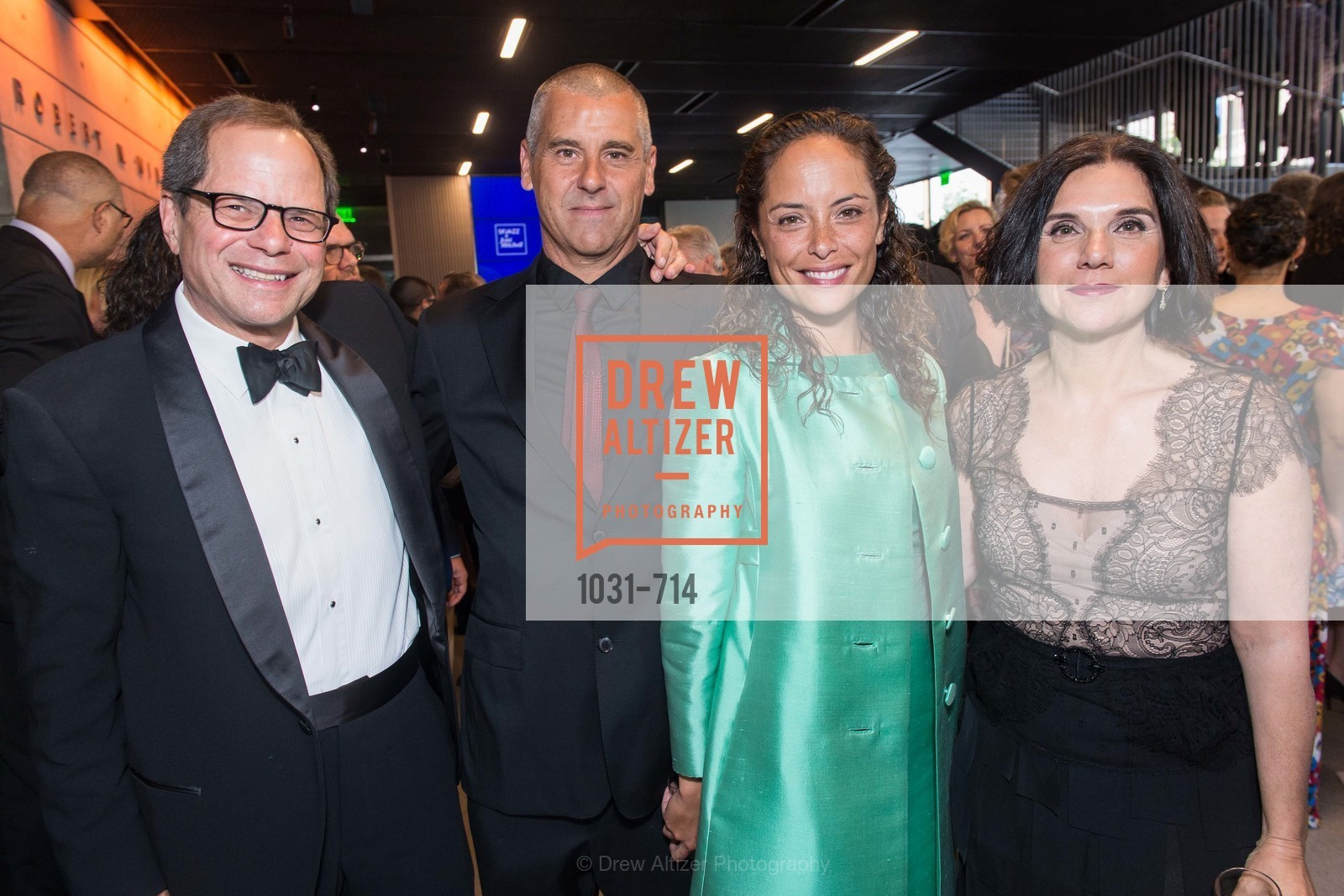 Randall Kline, Sando Birk, Elyse Bignolet, Teresa Pantaleo, SFJAZZ Gala 2015 Honors Joni Mitchell with Lifetime Achievement Award, US, May 9th, 2015,Drew Altizer, Drew Altizer Photography, full-service agency, private events, San Francisco photographer, photographer california