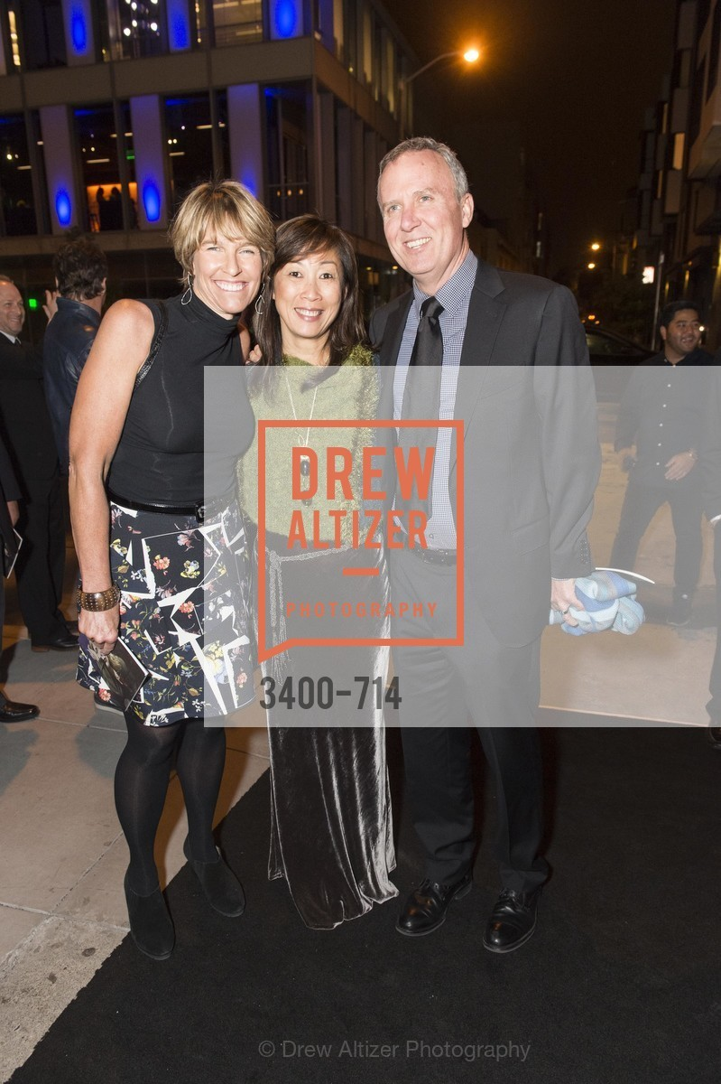 Kate Duhamel, Lucia Choi Dalton, Greg Dalton, SFJAZZ Gala 2015 Honors Joni Mitchell with Lifetime Achievement Award, US, May 9th, 2015,Drew Altizer, Drew Altizer Photography, full-service agency, private events, San Francisco photographer, photographer california