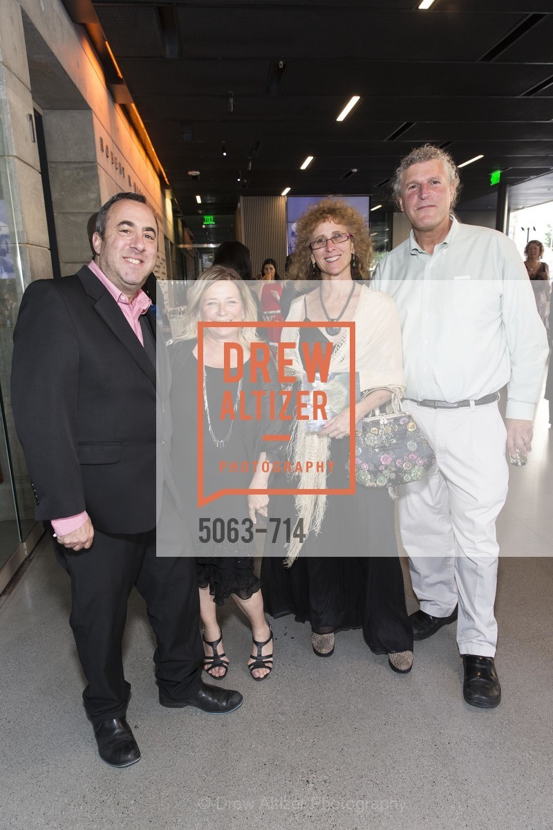 Robert Friedman, Anne Marie Martins, Donna Wapner, Bill Hirsh, SFJAZZ Gala 2015 Honors Joni Mitchell with Lifetime Achievement Award, US, May 8th, 2015,Drew Altizer, Drew Altizer Photography, full-service agency, private events, San Francisco photographer, photographer california