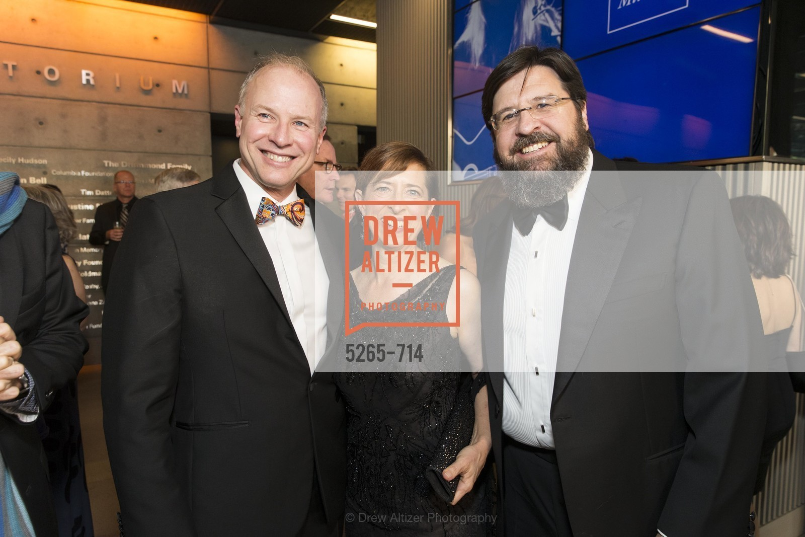 Don Derheim, Claire Ernst, Al Bedecarre, SFJAZZ Gala 2015 Honors Joni Mitchell with Lifetime Achievement Award, US, May 9th, 2015,Drew Altizer, Drew Altizer Photography, full-service agency, private events, San Francisco photographer, photographer california