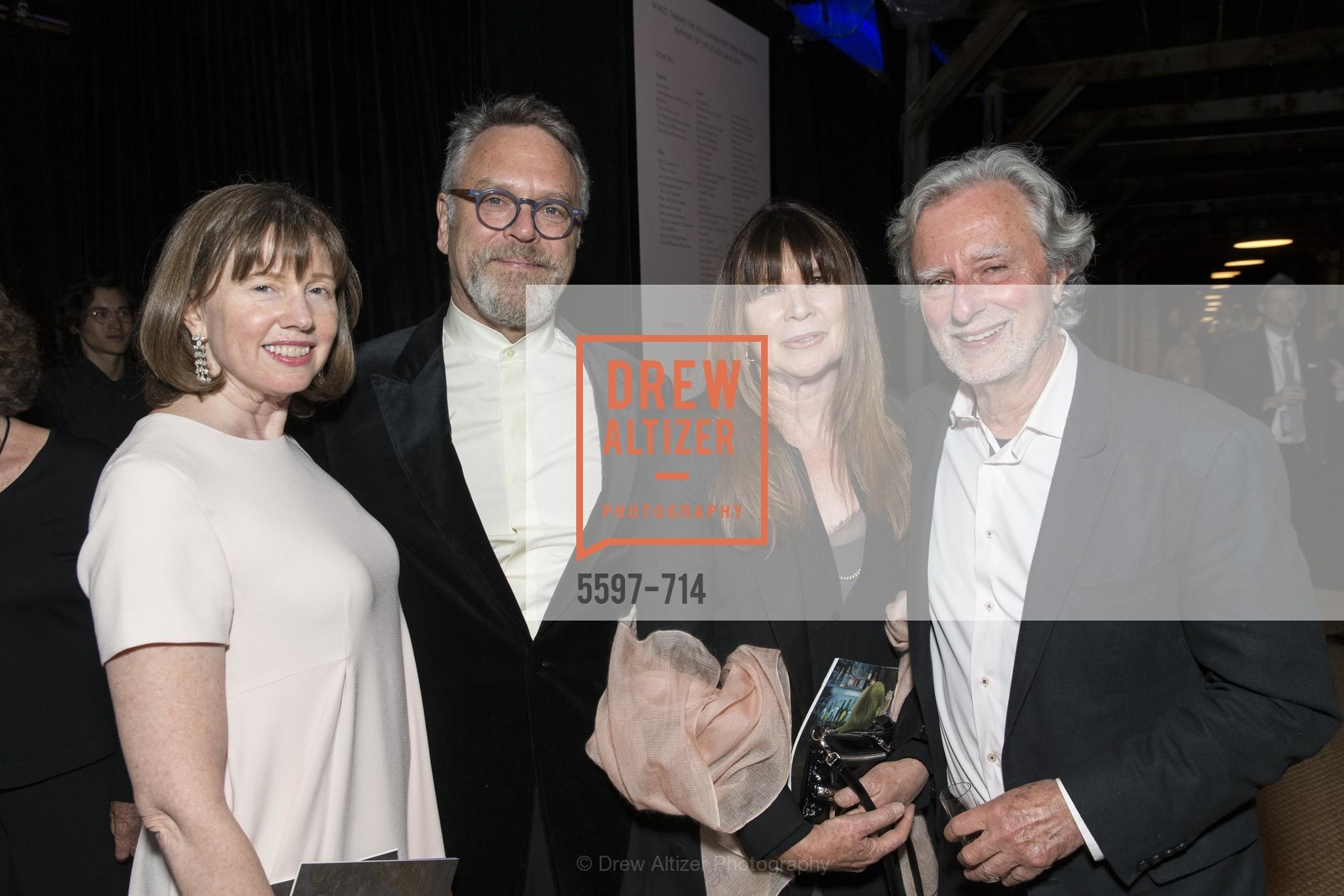 Leslie Berriman, Nion McEvoy, Kelly Sultan, Philip Kaufman, SFJAZZ Gala 2015 Honors Joni Mitchell with Lifetime Achievement Award, US, May 9th, 2015,Drew Altizer, Drew Altizer Photography, full-service agency, private events, San Francisco photographer, photographer california