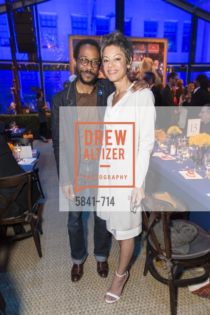 Brian Blade, Lurah Blade, SFJAZZ Gala 2015 Honors Joni Mitchell with Lifetime Achievement Award, US, May 9th, 2015,Drew Altizer, Drew Altizer Photography, full-service agency, private events, San Francisco photographer, photographer california