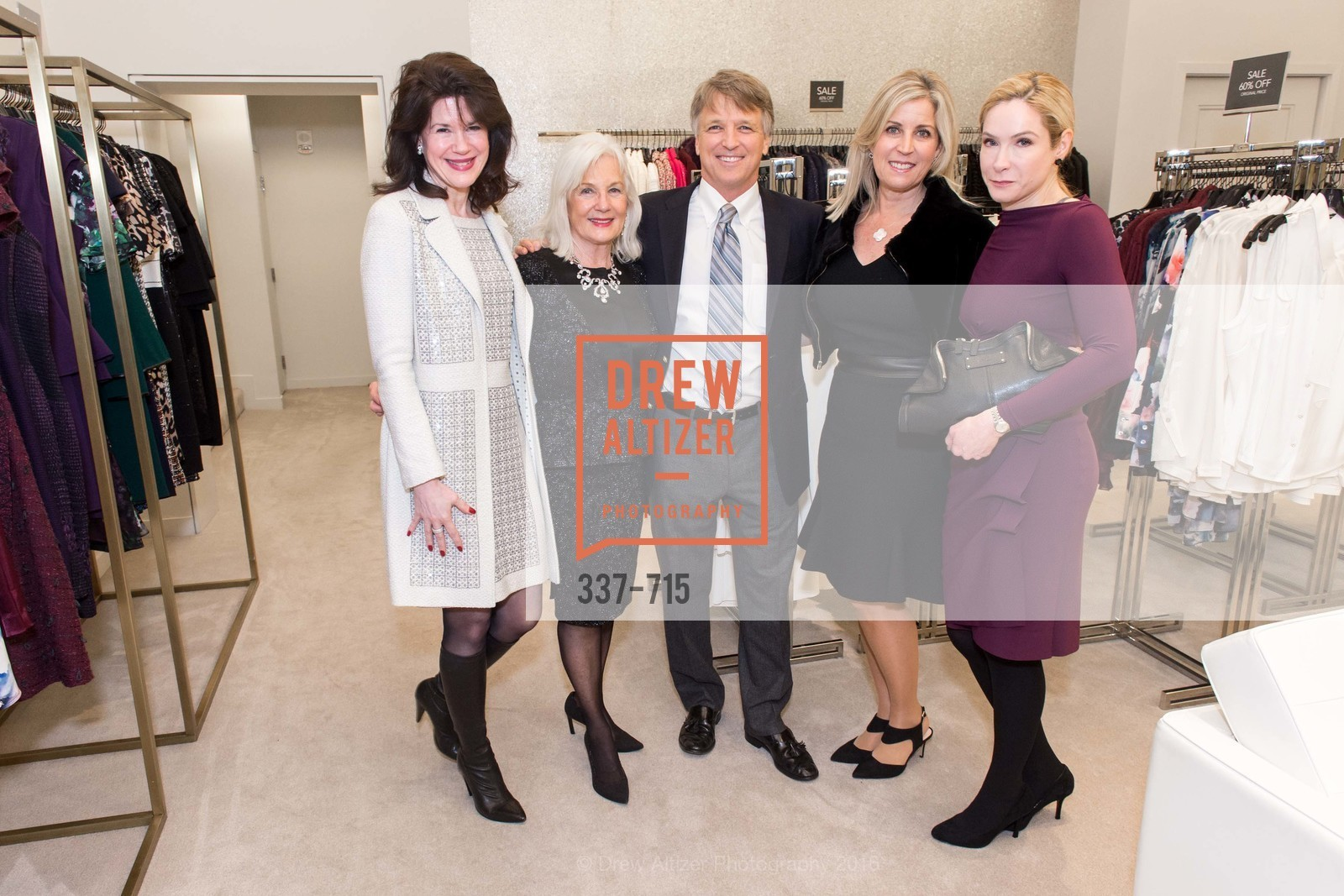 Elaine Mellis, Arlene Inch, Bert Inch, The National Domestic Violence Hotline 20th Anniversary Gala Launch Party, St. John Boutique. 767 Market St, January 20th, 2016,Drew Altizer, Drew Altizer Photography, full-service agency, private events, San Francisco photographer, photographer california