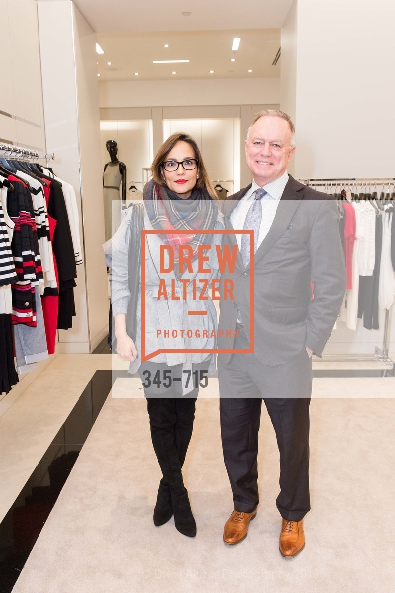 Lora DuBain, Don DuBain, The National Domestic Violence Hotline 20th Anniversary Gala Launch Party, St. John Boutique. 767 Market St, January 20th, 2016,Drew Altizer, Drew Altizer Photography, full-service agency, private events, San Francisco photographer, photographer california