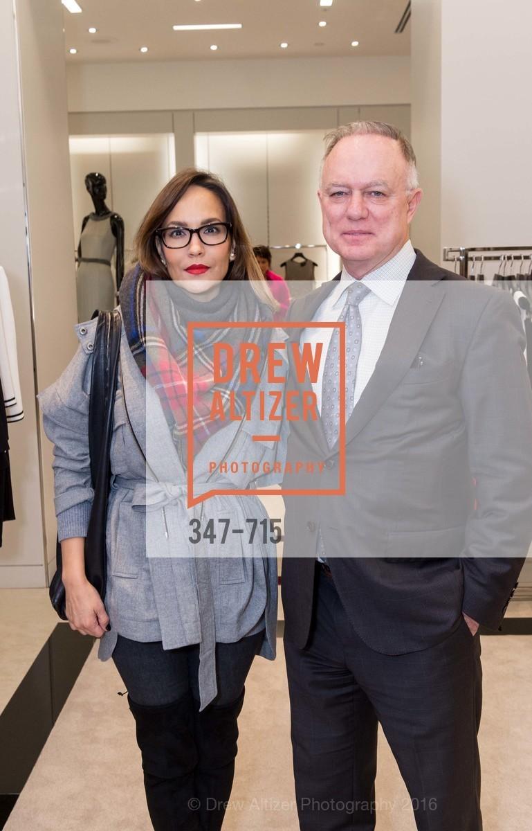 Lora DuBain, Don DuBain, The National Domestic Violence Hotline 20th Anniversary Gala Launch Party, St. John Boutique. 767 Market St, January 20th, 2016
