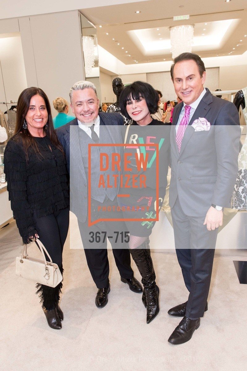 Natalia Urrutia, Victor Vargas, Marilyn Cabak, Joel Goodrich, The National Domestic Violence Hotline 20th Anniversary Gala Launch Party, St. John Boutique. 767 Market St, January 20th, 2016,Drew Altizer, Drew Altizer Photography, full-service agency, private events, San Francisco photographer, photographer california