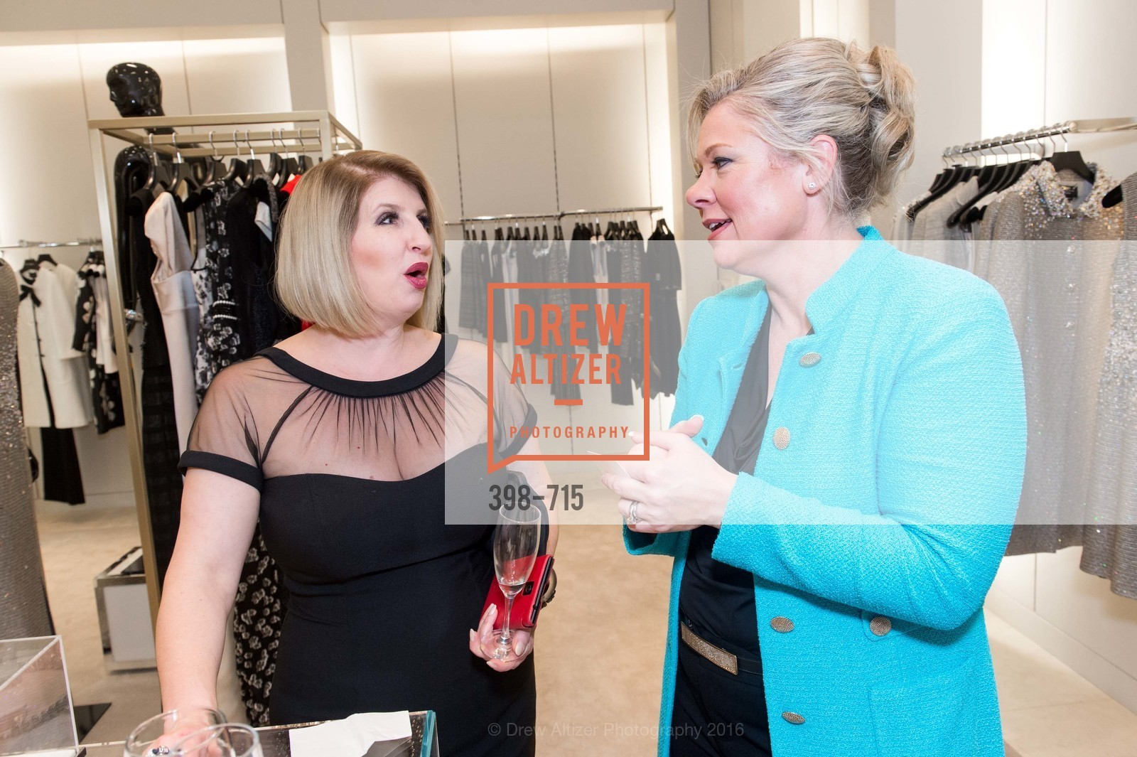 Roberta Economidis, Katie Ray-Jones, The National Domestic Violence Hotline 20th Anniversary Gala Launch Party, St. John Boutique. 767 Market St, January 20th, 2016,Drew Altizer, Drew Altizer Photography, full-service event agency, private events, San Francisco photographer, photographer California
