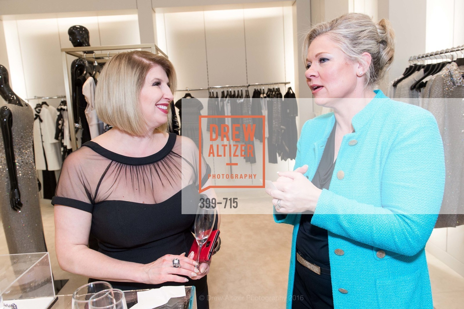 Roberta Economidis, Katie Ray-Jones, The National Domestic Violence Hotline 20th Anniversary Gala Launch Party, St. John Boutique. 767 Market St, January 20th, 2016,Drew Altizer, Drew Altizer Photography, full-service agency, private events, San Francisco photographer, photographer california