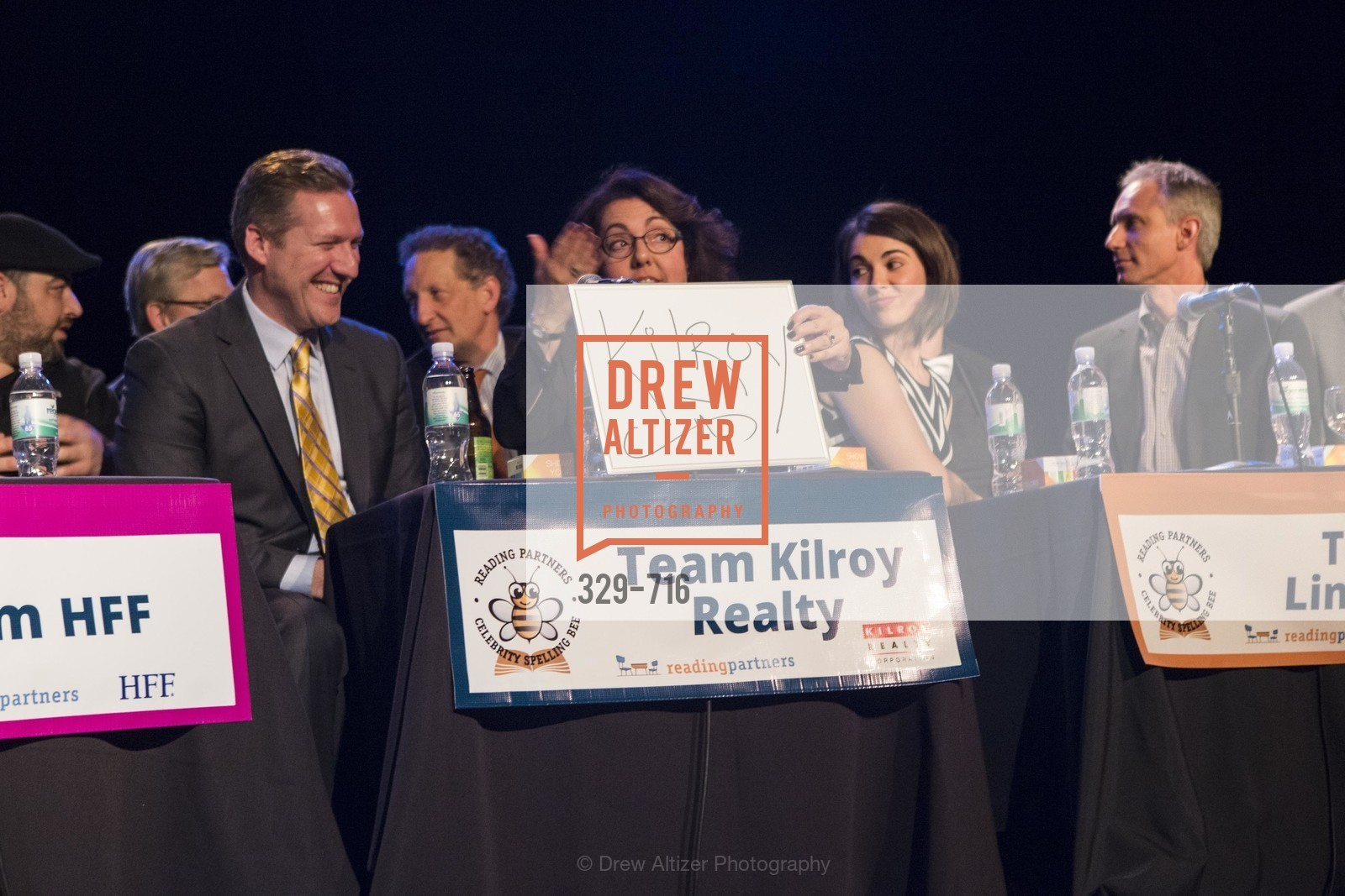 Mike Grisso, Carla Neumann, READING PARTNERS BAY AREA Celebrity Spelling Bee, US, May 8th, 2015,Drew Altizer, Drew Altizer Photography, full-service agency, private events, San Francisco photographer, photographer california