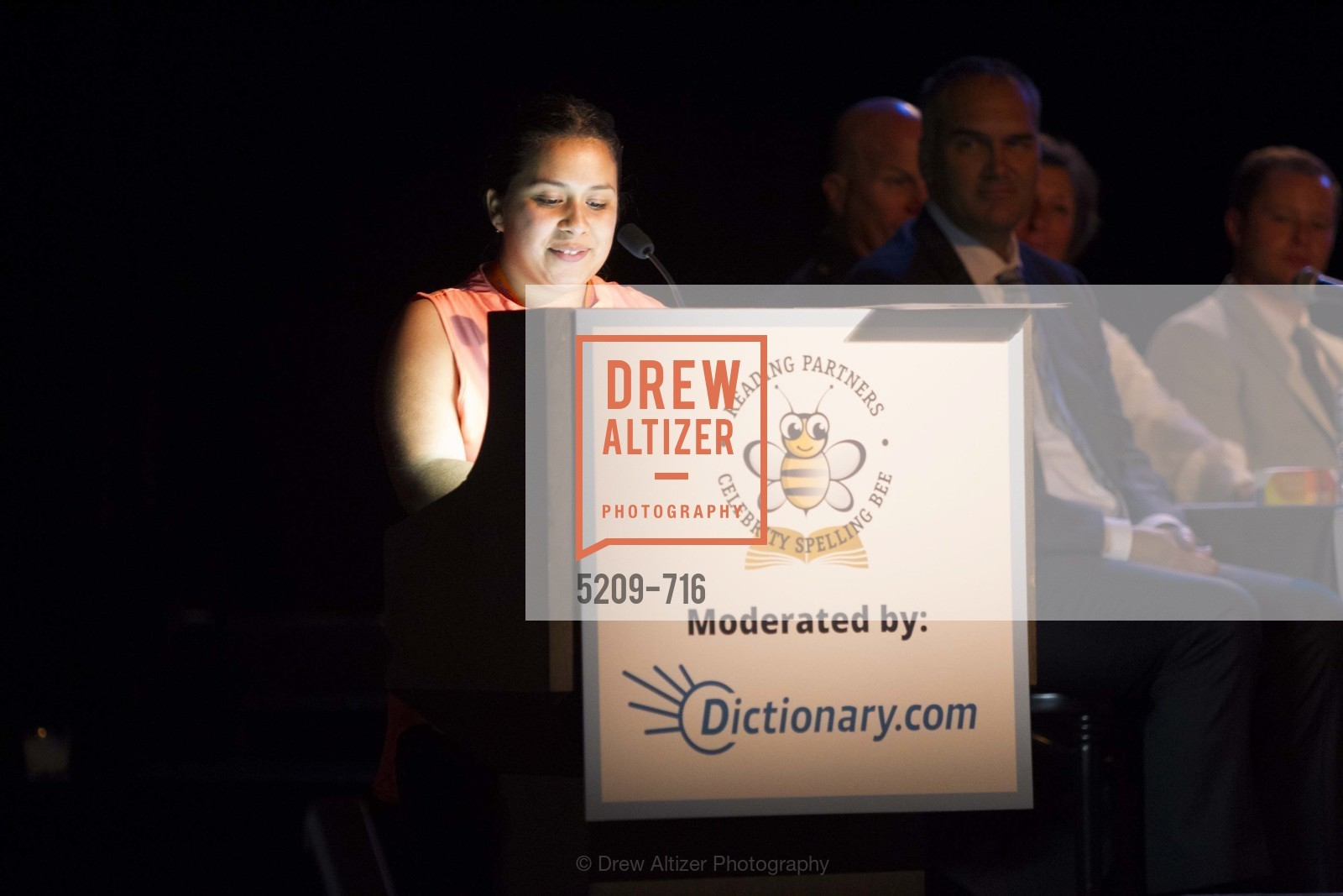 Lucia Maldonado, READING PARTNERS BAY AREA Celebrity Spelling Bee, US, May 8th, 2015,Drew Altizer, Drew Altizer Photography, full-service agency, private events, San Francisco photographer, photographer california