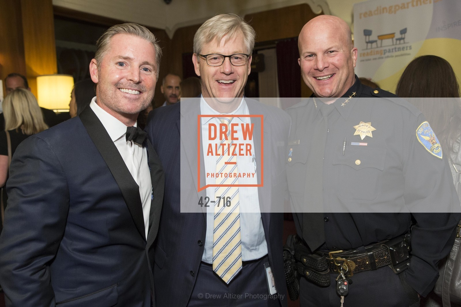 Doug Landis, Bill Ring, Greg Suhr, READING PARTNERS BAY AREA Celebrity Spelling Bee, US, May 8th, 2015,Drew Altizer, Drew Altizer Photography, full-service agency, private events, San Francisco photographer, photographer california