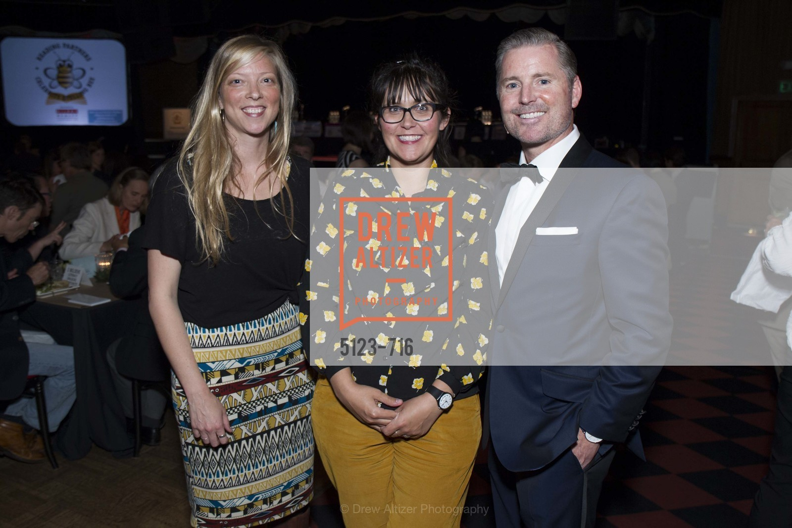 Renee Pearbutt, Rebekah Otto, Doug Landis, READING PARTNERS BAY AREA Celebrity Spelling Bee, US, May 9th, 2015,Drew Altizer, Drew Altizer Photography, full-service agency, private events, San Francisco photographer, photographer california