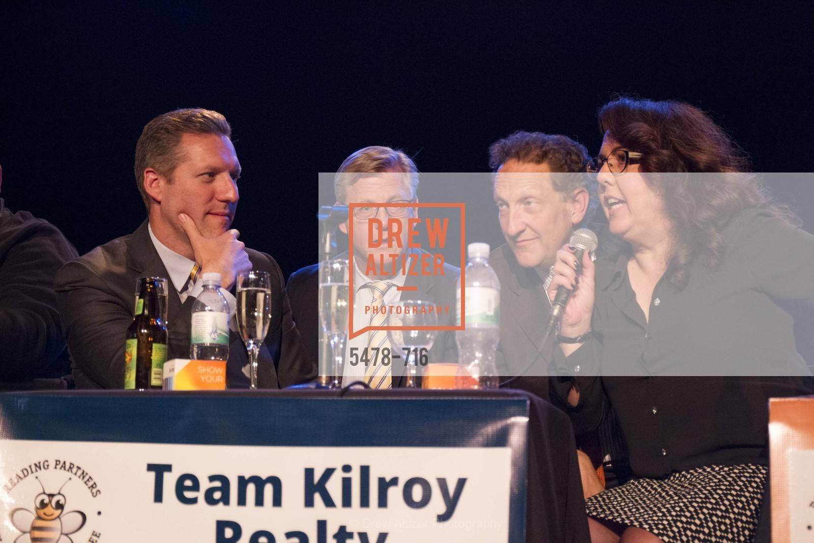 Mike Grisso, Bill Ring, Larry Baer, Carla Neumann, READING PARTNERS BAY AREA Celebrity Spelling Bee, US, May 9th, 2015,Drew Altizer, Drew Altizer Photography, full-service agency, private events, San Francisco photographer, photographer california