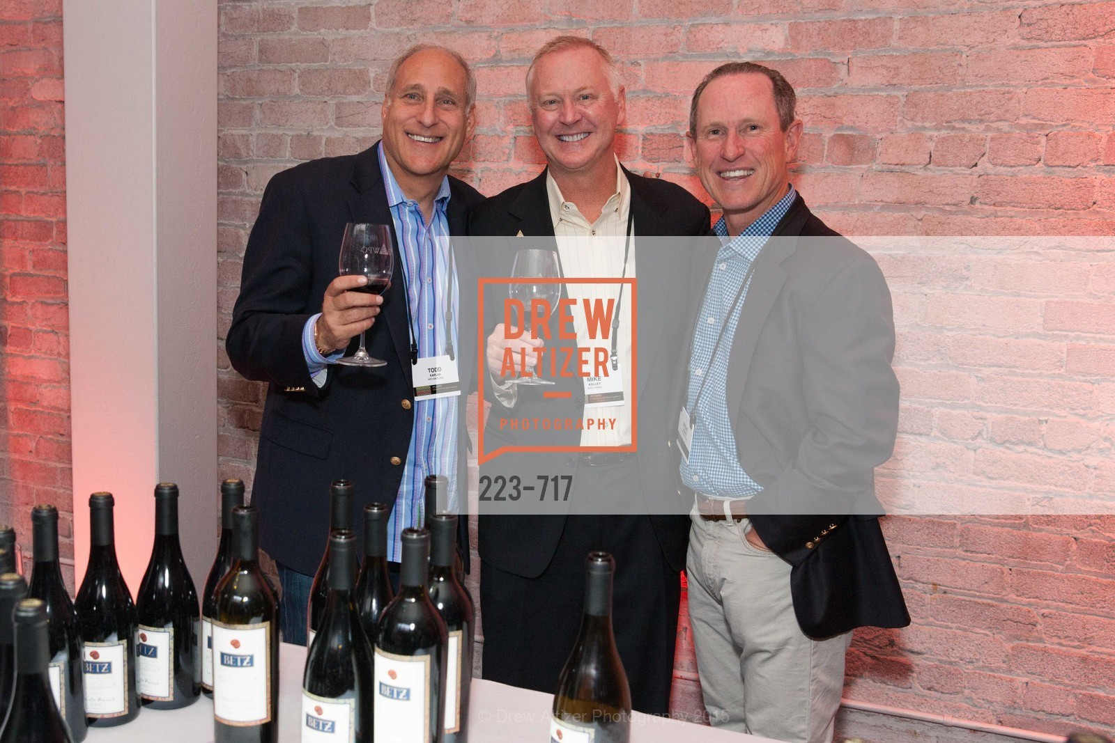 Todd Kaplan, Mike Kelley, Steve Gressel, YPO Wine Festival, US, May 12th, 2015,Drew Altizer, Drew Altizer Photography, full-service agency, private events, San Francisco photographer, photographer california