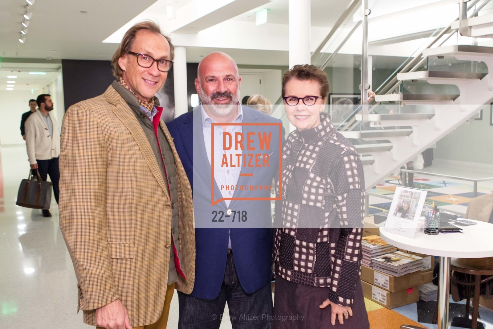 Ned Mobley, Geoffrey DeSousa, Kathleen Taylor, ICAA Hosts NICKY HASLAM'S Lecture and Book Signing, US, May 12th, 2015,Drew Altizer, Drew Altizer Photography, full-service agency, private events, San Francisco photographer, photographer california