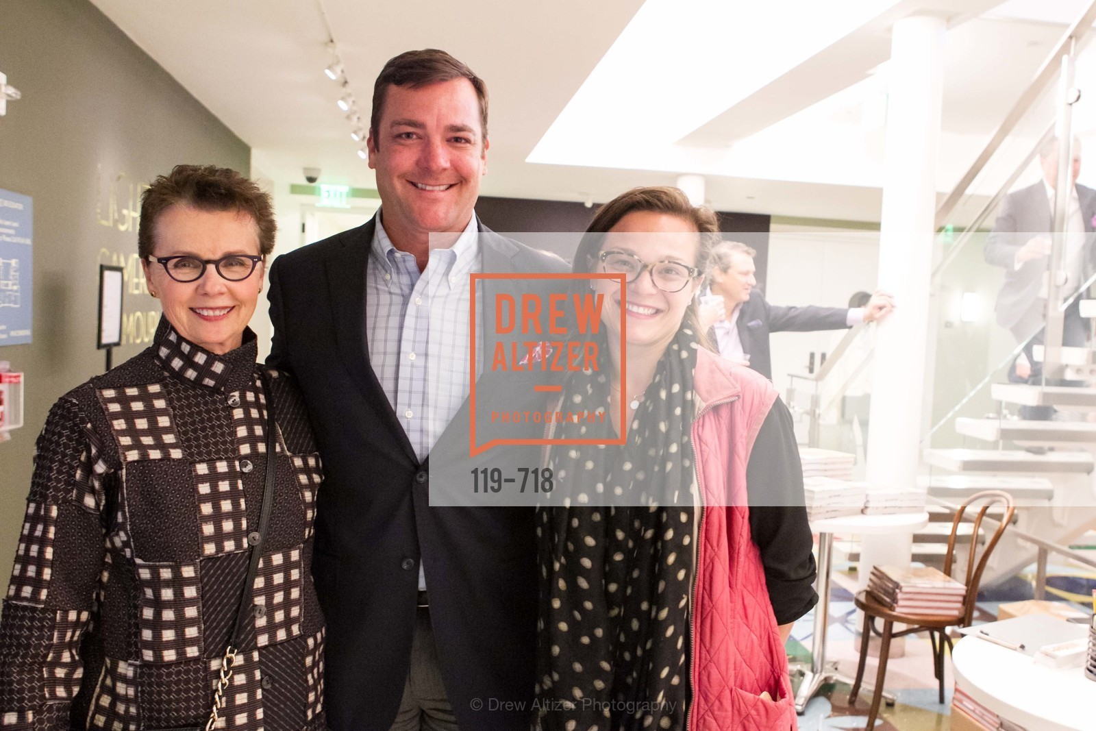 Kathleen Taylor, Jack Ryder, Josephine Arader, ICAA Hosts NICKY HASLAM'S Lecture and Book Signing, US, May 11th, 2015,Drew Altizer, Drew Altizer Photography, full-service agency, private events, San Francisco photographer, photographer california