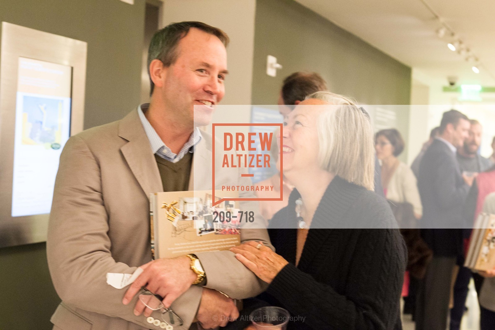 Chip Zecher, Sally Swing, ICAA Hosts NICKY HASLAM'S Lecture and Book Signing, US, May 12th, 2015,Drew Altizer, Drew Altizer Photography, full-service agency, private events, San Francisco photographer, photographer california