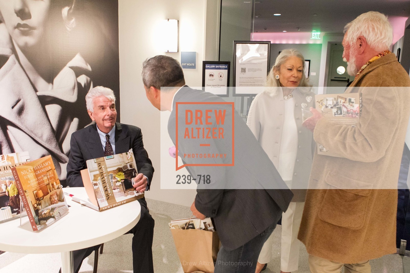 Nicky Haslam, Benjamin Dhong, Denise Hale, Lewis Sykes, ICAA Hosts NICKY HASLAM'S Lecture and Book Signing, US, May 11th, 2015,Drew Altizer, Drew Altizer Photography, full-service agency, private events, San Francisco photographer, photographer california
