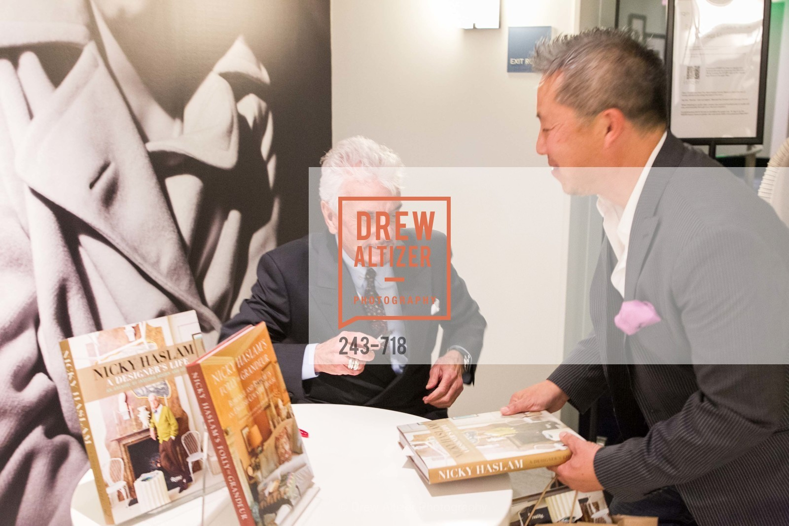 Nicky Haslam, Benjamin Dhong, ICAA Hosts NICKY HASLAM'S Lecture and Book Signing, US, May 12th, 2015,Drew Altizer, Drew Altizer Photography, full-service agency, private events, San Francisco photographer, photographer california