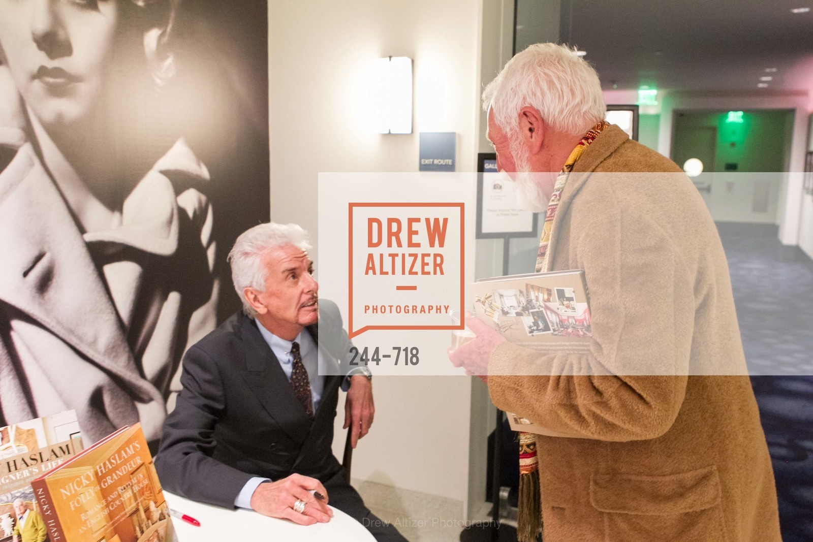 Nicky Haslam, Lewis Sykes, ICAA Hosts NICKY HASLAM'S Lecture and Book Signing, US, May 11th, 2015,Drew Altizer, Drew Altizer Photography, full-service agency, private events, San Francisco photographer, photographer california