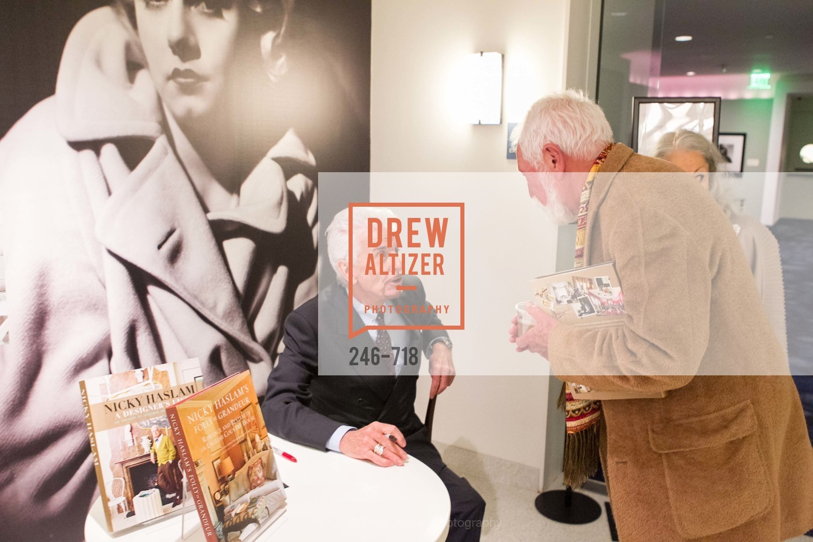 Nicky Haslam, Lewis Sykes, ICAA Hosts NICKY HASLAM'S Lecture and Book Signing, US, May 12th, 2015,Drew Altizer, Drew Altizer Photography, full-service agency, private events, San Francisco photographer, photographer california