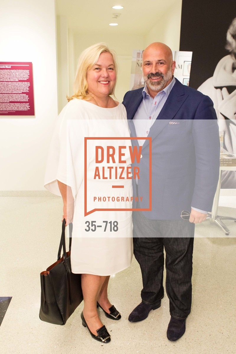 Heidi Gerpheide, Geoffrey DeSousa, ICAA Hosts NICKY HASLAM'S Lecture and Book Signing, US, May 11th, 2015,Drew Altizer, Drew Altizer Photography, full-service agency, private events, San Francisco photographer, photographer california