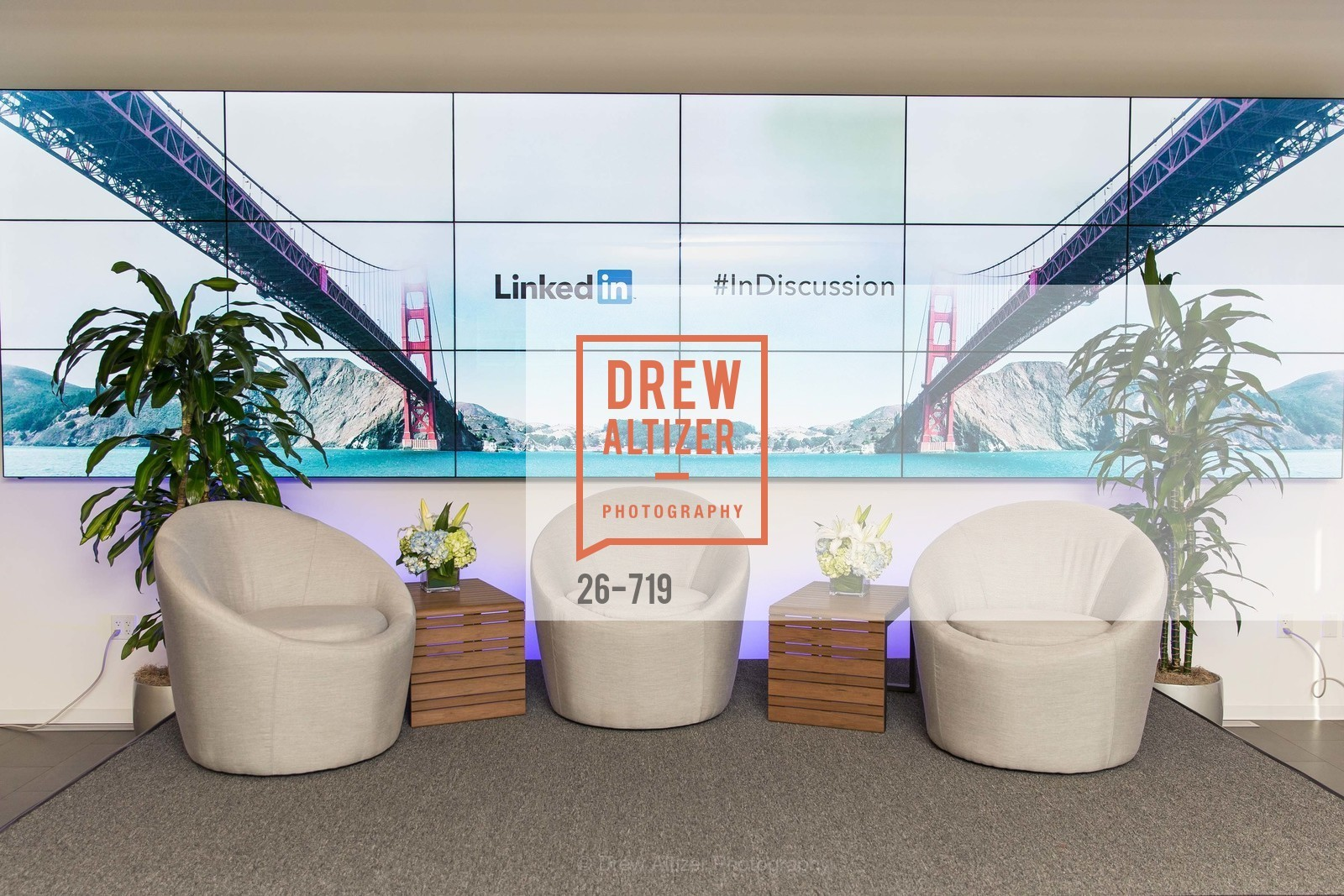 Atmosphere, THE LINKEDIN Discussion Series featuring Jack and Suzy Welch with LinkedIn Executive Editor Dan Roth, US, May 12th, 2015,Drew Altizer, Drew Altizer Photography, full-service agency, private events, San Francisco photographer, photographer california