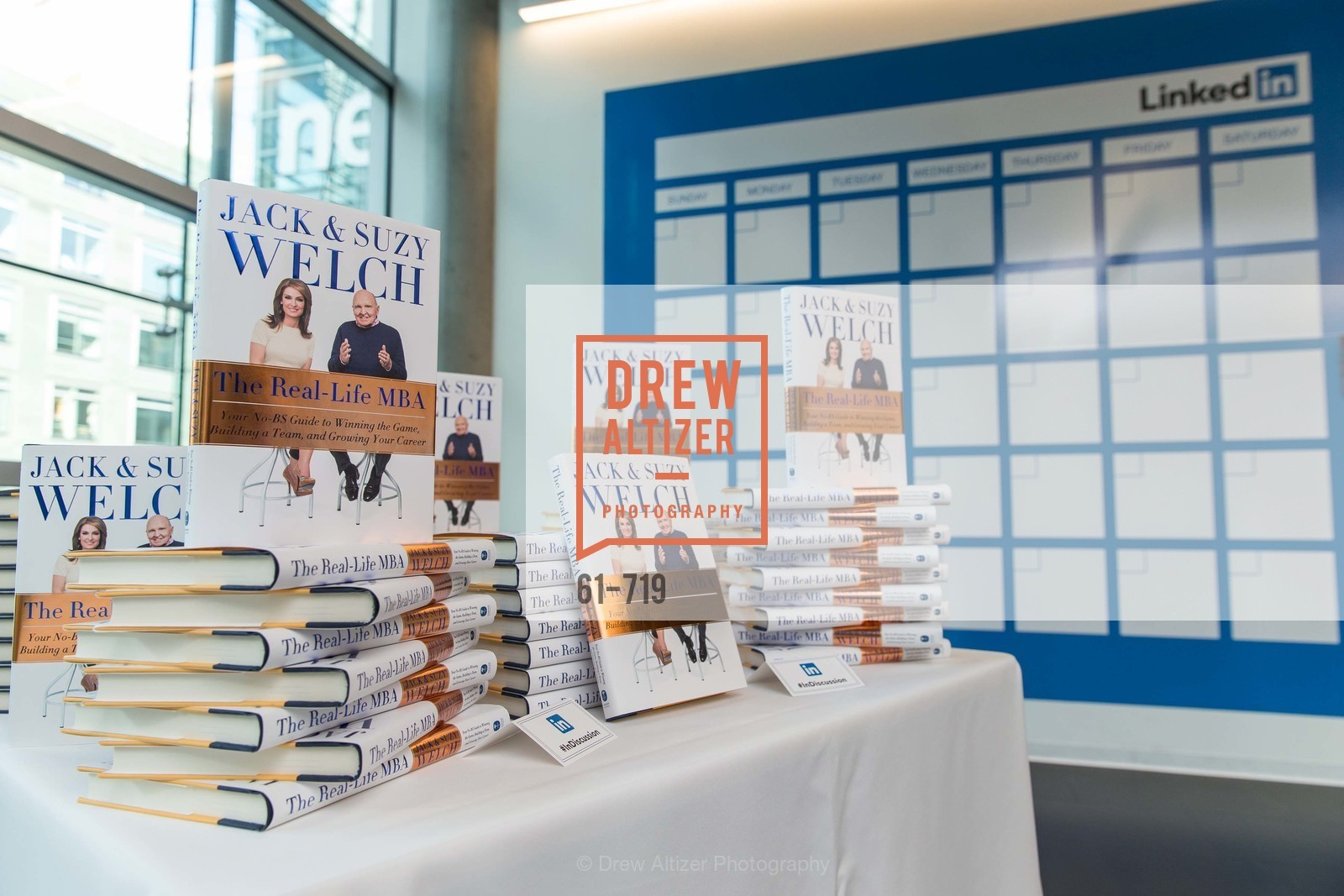 Atmosphere, THE LINKEDIN Discussion Series featuring Jack and Suzy Welch with LinkedIn Executive Editor Dan Roth, US, May 11th, 2015,Drew Altizer, Drew Altizer Photography, full-service agency, private events, San Francisco photographer, photographer california